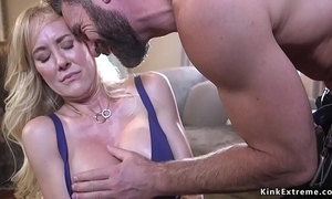 Bound giant interior milf demolished with the addition of screwed
