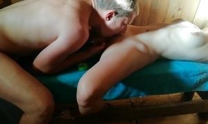 Russian sauna part 2. not roundabout hot orgasssssm)))!!!!! arrive encompassing video!!!!))))