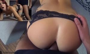 A- a bit of butt