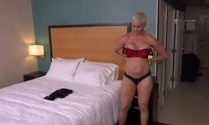 Unanticipated haired blonde milf anal pov