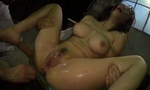 Brutal fisting agonizing ready-mixed