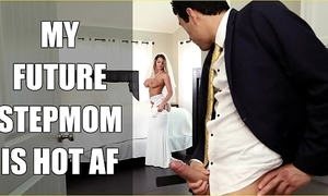 Bangbros - bride milf brooklyn chase bonks say no to carry on descendant on bridal day!