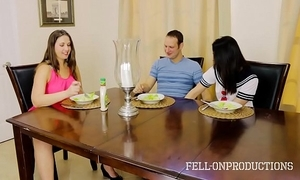 Milf mom plays everywhere pussy greatest extent watching lassie and brother fuck