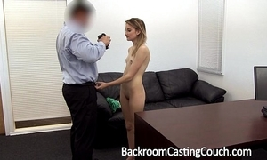 Young stripper ass screwed and creampie