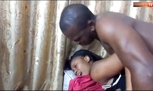 African maid fuck wits boss