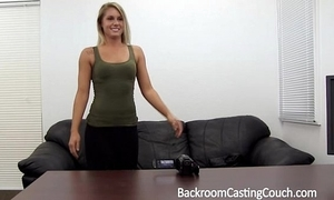 Furnish cosset fucked right into an asshole n creampie vulnerable casting couch