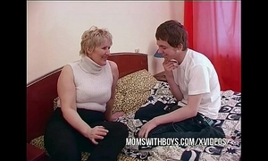 Bbw full-grown mummy seduces sons affiliate