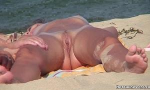 Beach voyeur nude often proles spycam hd video
