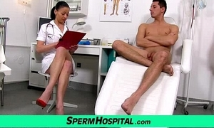 Czech milf doctor renate old lady about small fry medical centre cream extraction