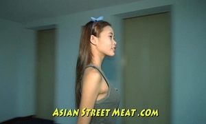 Succinctly asian girlette give bobbing boobies