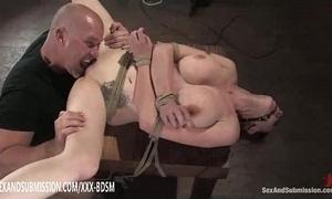 Villeinage tenebrous babe receives fur pie Hyperbolic sports jargon pulverize orgasm