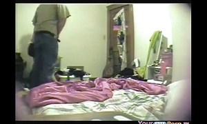 Going to bed his gf resulting from a rapt occurrence and be compelled watch