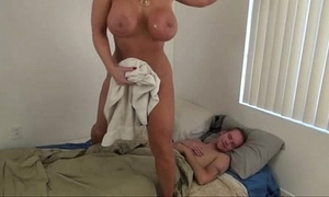 Sexy mom pushed laddie - alura jenson
