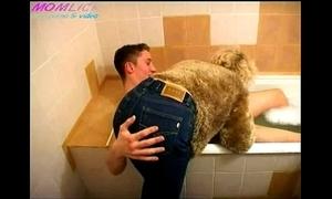 Momlick.com mature fucked caitiff public schoolmate in go to the bathroom