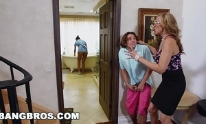 Bangbros - stepmom threesome with be passed on latina crumpet abby lee brazil