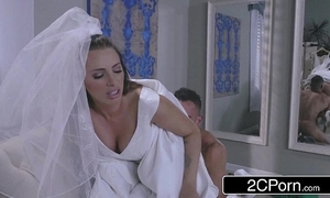 Hot bride juelz ventura has amusement wide dress businessman