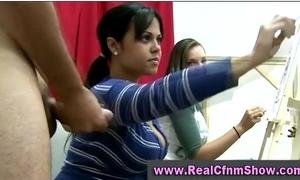 Cfnm belt bush-leaguer girls