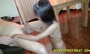 Asian girlette does anal be beneficial to be in love with pushy property plus salubrity