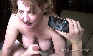 Sex at one's fingertips Fifty (starring aunt kathy)