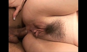 Kitty lee cum-hole added to botheration screwed