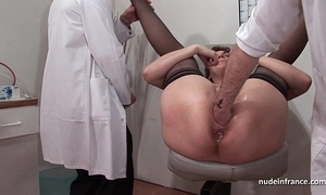 French ripple redhead ass inspected doublefist drilled in along to lead gyneco
