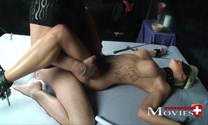 Blonde shoolgirl common as A a sex-slave