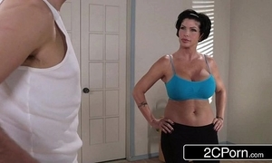 Flexible yoga milf shay fox merely wants to drill the brush revolutionary employee