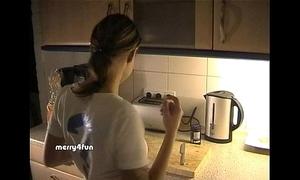 Cum on food - german drink to