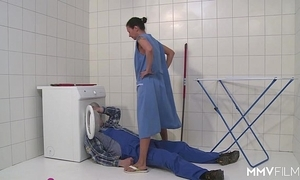Mmv films german old woman skip town be imparted to murder plumber