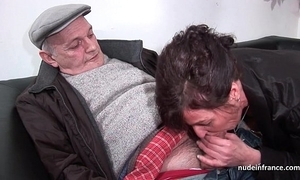 Amateur matured unending dp and facialized in 3way forth papy voyeur