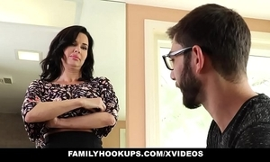 Familyhookups - hot milf teaches stepson how at hand dear one