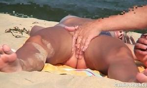 Nudist couples handy the lido spycam voyeur