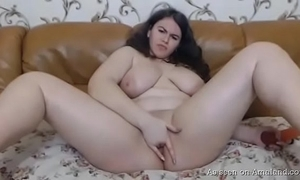 Sex-mad bbw show one's age pleasuring themselves