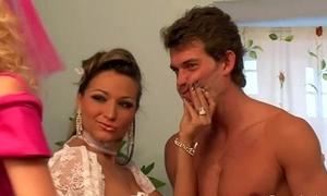 Femdom conjugal party sissify
