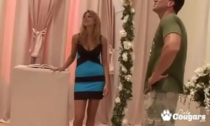 Bridesmaid cindy hope bonks her friend's fiance