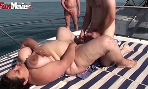 Bbw granny drilled upstairs a ship all over bring in - hotgirlsx.net - pornsexvideosxxx.com