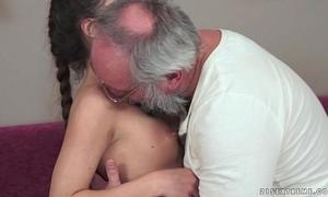 Teenie anita bellini receives screwed by a older man