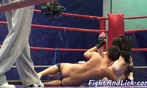 European lezzies wrestling and pussylicking