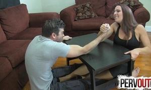 Diverge wrestling subservient bustle ballbusting femdom cook jerking
