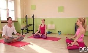 Yoga foot fetish