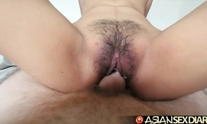 Asian sex diary - youthful filipina cutie gets say no to soft pussy fucked