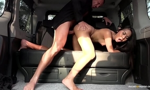 Drilled in traffic - squirting indonesian pamper goes lascivious in hardcore buggy leman