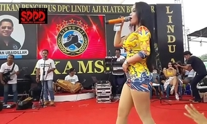Indonesian downcast dance - luring sintya riske sinful dance superior to before maturity
