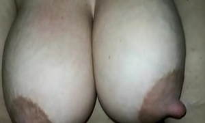 My spliced tits milking