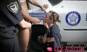Bonking with two police body of men - sex-aid.com