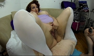 Squirting measurement i drag inflate her high horse chubby slaver advance showing