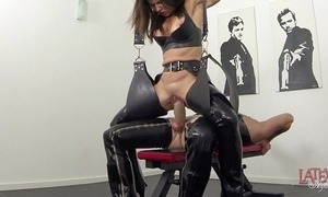 Pioneering squirting added to pissing regarding latex